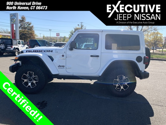 Certified Pre-Owned 2018 Jeep Wrangler Rubicon