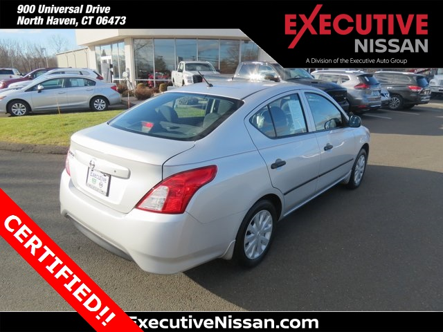 Certified Pre-Owned 2015 Nissan Versa 1.6 S