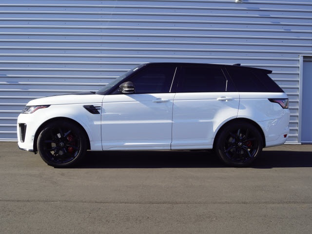 Land Rover Sport >> Pre Owned 2018 Land Rover Range Rover Sport Svr 4wd